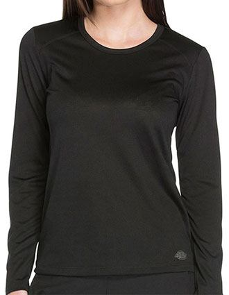 Dickies Dynamix Women's Long Sleeve Underscrub Knit Tee