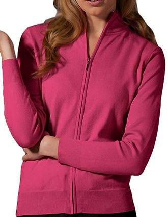 Women's Full Zip Cardigan-ED-064