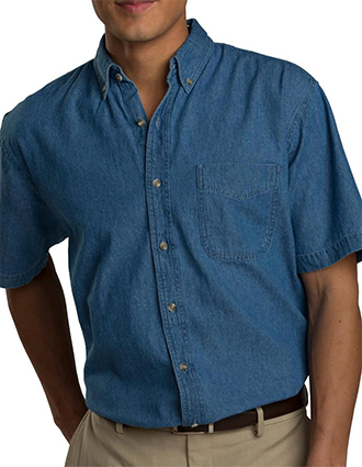 Edward Men's Denim Shirt-ED-1013