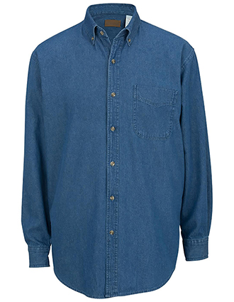 Edward Men's Denim Shirt-ED-1093
