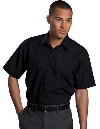 Men's Short Sleeve Cafe Shirt-ED-1240