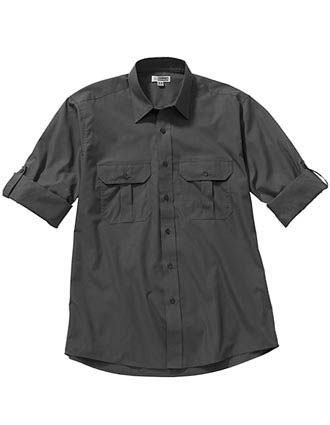 Edward Men's Roll Up Long Sleeve Shirt-ED-1288