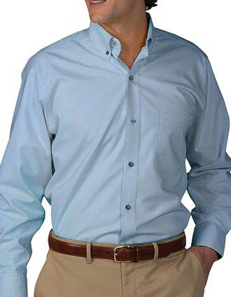 Men's Long Sleeve Soft Touch Poplin Shirt-ED-1295