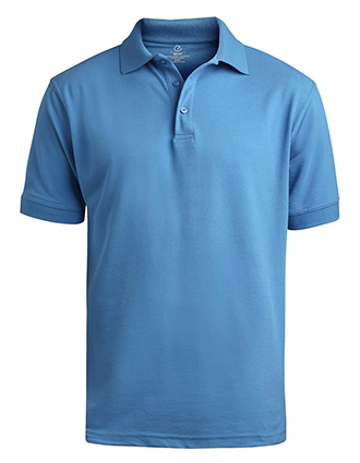 Men's Short Sleeve Soft Touch Blended Pique Polo-ED-1500