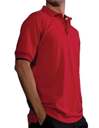 Men's Short Sleeve All Cotton Pique Polo-ED-1530