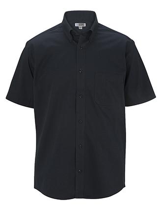 Men's Cottonplus Short Sleeve Twill Shirt-ED-1740