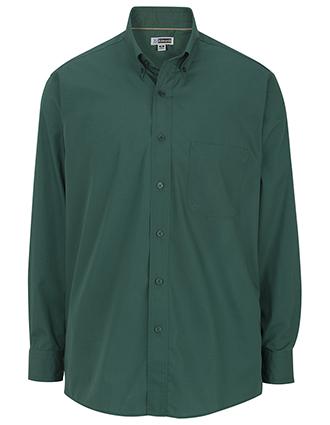 Men's Cotton Plus Long Sleeve Twill Shirt-ED-1750