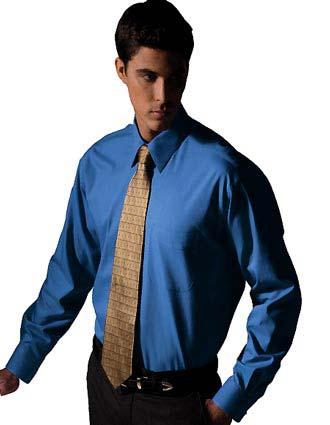 Men's Long Sleeve Pinpoint Oxford Shirt-ED-1965