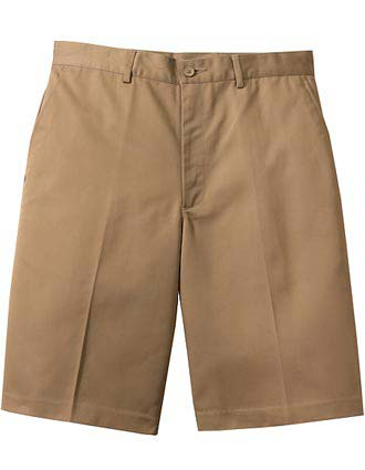 Men's Flat Front Chino Short-ED-2487