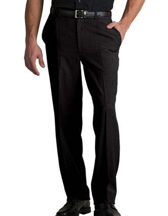 Edward Men's Microfiber Flat Front Pant-ED-2588