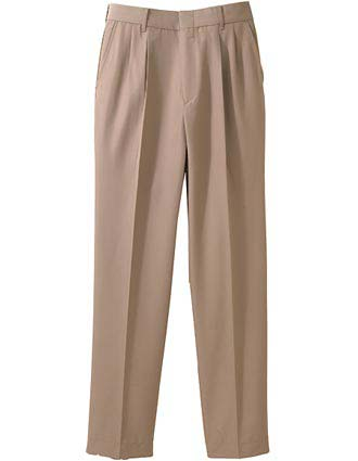 Men's Washable Wool Blend Pleated Pant-ED-2620