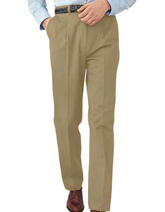 Men's All Cotton Pleated Pant-ED-2630