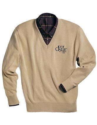 Value V-neck Sweater-ED-265