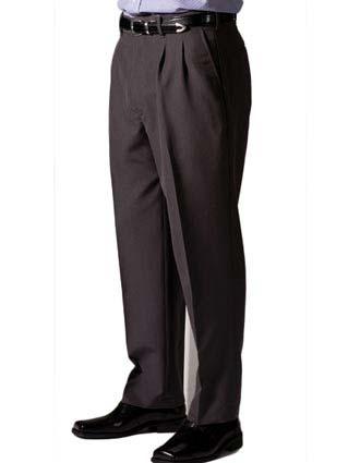 Men's Lightweight Wool Blend Pleated Pant-ED-2650