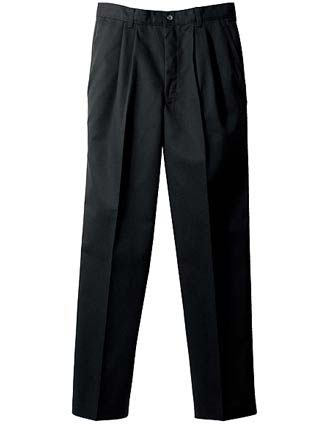 Men's Blended Chino Pleated Pant-ED-2670