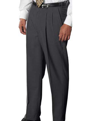 Men's Wool Blend Pleated Dress Pant-ED-2680