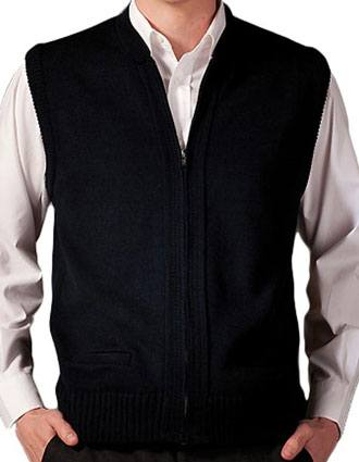 Heavy Weight Zipper Vest With Tuff-pil« Plus-ED-302