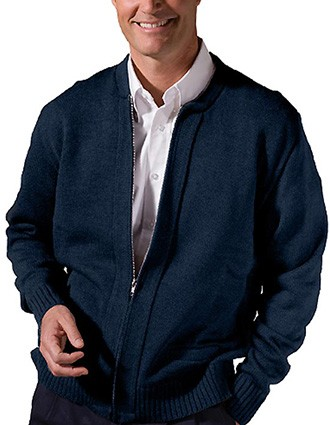 Value Zipper Cardigan With Tuff-pill-ED-381