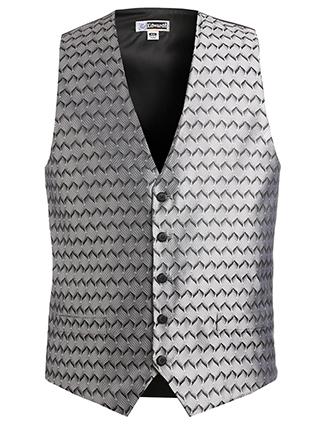 Men's Swirl Brocade Vest-ED-4391