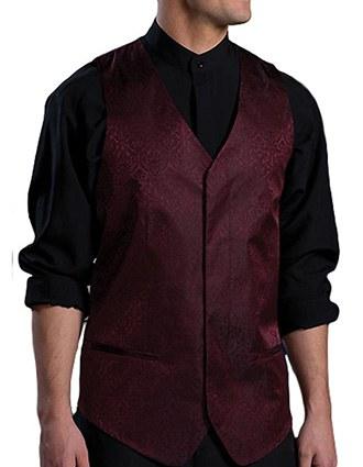 Men's Paisley Vest-ED-4491