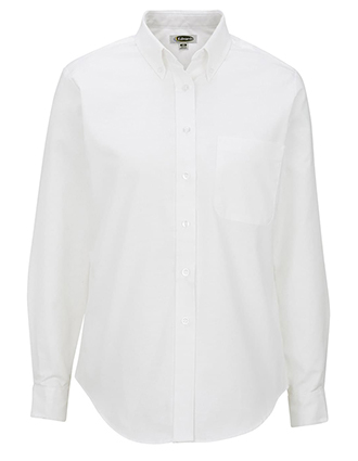 Edwards Women's Long Sleeve Dress Button Down Oxford