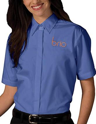 Edward Women's Short Sleeve Cafe Shirt-ED-5240