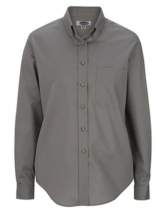 Women's Easy Care Long Sleeve Poplin Shirt-ED-5280