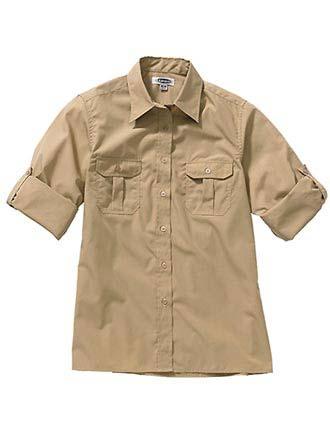Edward Women's W Roll Sleeve Shirt-ED-5288