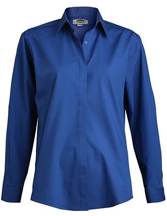 Edward Women's Long Sleeve Cafe Shirt-ED-5290