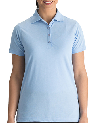Women's Soft Touch Blended Pique Polo-ED-5500