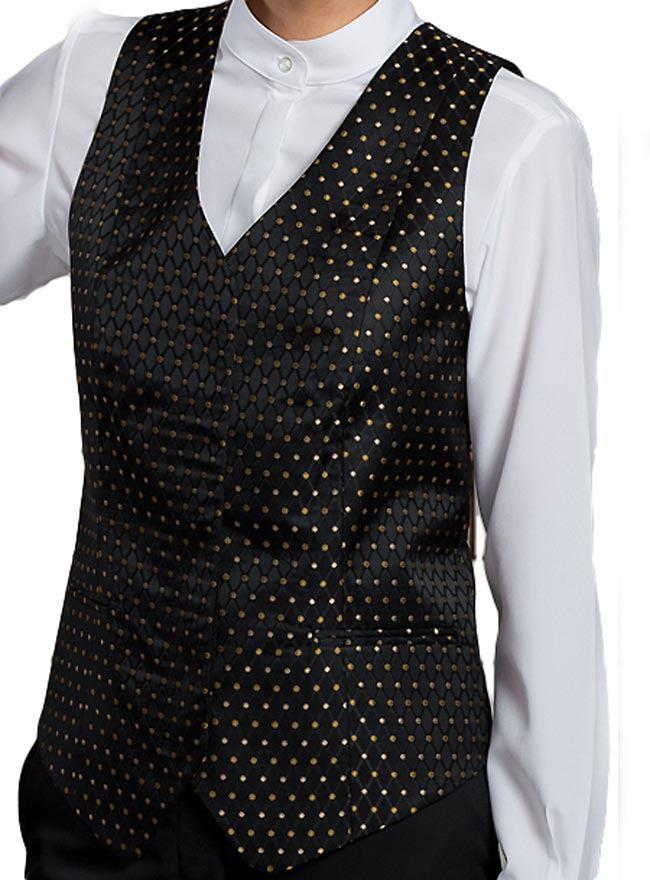 Edward Women's Diamonds And Dots Vest-ED-7497