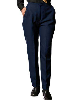 Women's Polyester Flat Front Pant-ED-8279