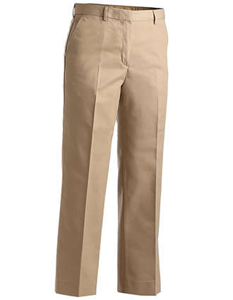 Women's Business Casual Flat Front Pant-ED-8519