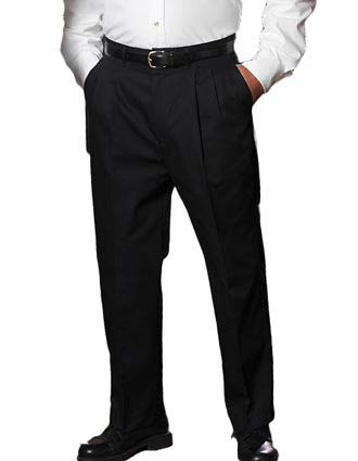 Women's All Cotton Pleated Pant-ED-8639
