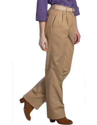 Women's Utility Pleated Pant-ED-8667