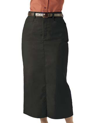 Women's Chino Skirt Long 35 Inches Length-ED-9779
