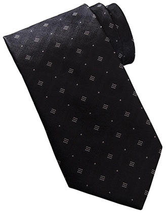 Edward Unisex Diamond & Dots Tie-ED-DT00