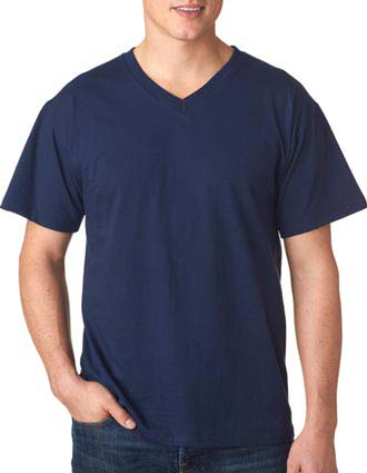 3930V Fruit of the Loom Adult Heavy Cotton HDV-Neck T-Shirt-FO-3930V