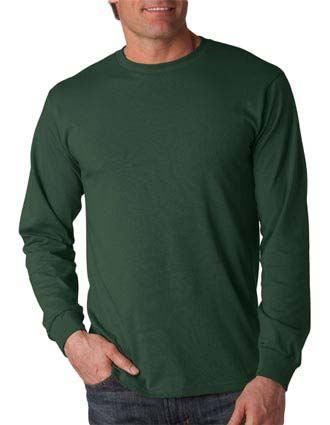 4930 Fruit of the Loom Adult Heavy Cotton HDLong-Sleeve T-Shirt-FO-4930