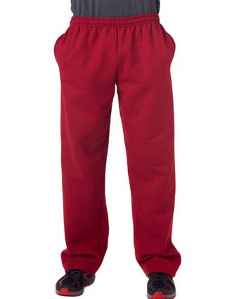 12300 Gildan Adult Gildan DryBlendOpen-Bottom Sweatpants-GI-12300