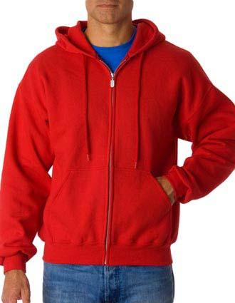 12600 Gildan Adult Gildan DryBlendFull-Zip Hooded Sweatshirt-GI-12600