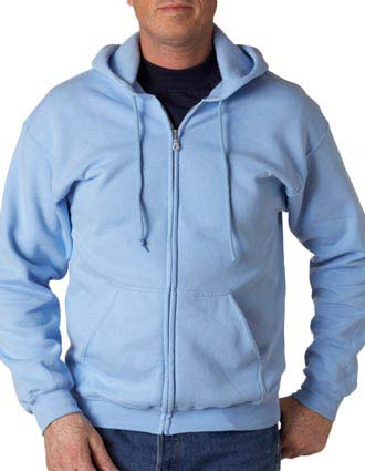 18600 Gildan Adult Heavy Blend Full-Zip Hooded Sweatshirt-GI-18600
