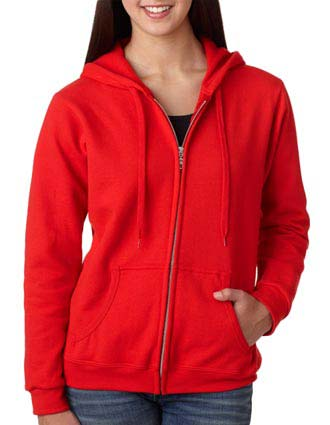 Gildan Missy Fit Heavy Blend Full-Zip Hooded Sweatshirt-GI-18600FL