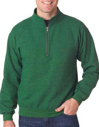 18800 Gildan Adult Heavy BlendVintage 1/4-Zip Cadet Collar Sweatshirt-GI-18800