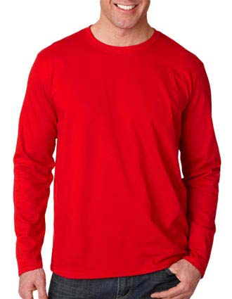 64400 Gildan Adult Softstyle Long-Sleeve T-Shirt-GI-64400