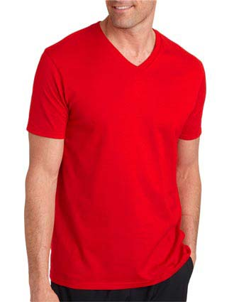 64V00 Gildan Adult Softstyle V-Neck T-Shirt-GI-64V00