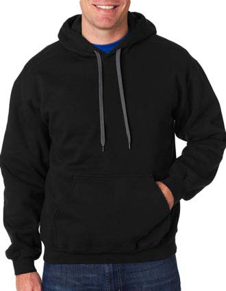 92500 Gildan Adult Premium Cotton Hooded Sweatshirt-GI-92500