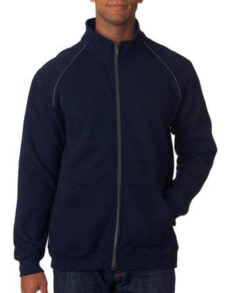 Gildan Premium Blended Fleece Adult Full-Zip Jacket-GI-92900