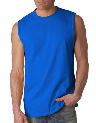 G2700 Gildan Adult Ultra Cotton Sleeveless T-Shirt-GI-G2700