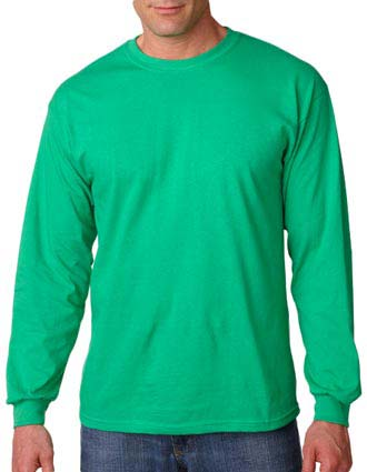 Gildan Adult Heavy Cotton Long-Sleeve T-Shirt-GI-G5400